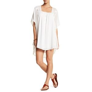 NWT AMUSE SOCIETY   Lucia lace boho white dress S